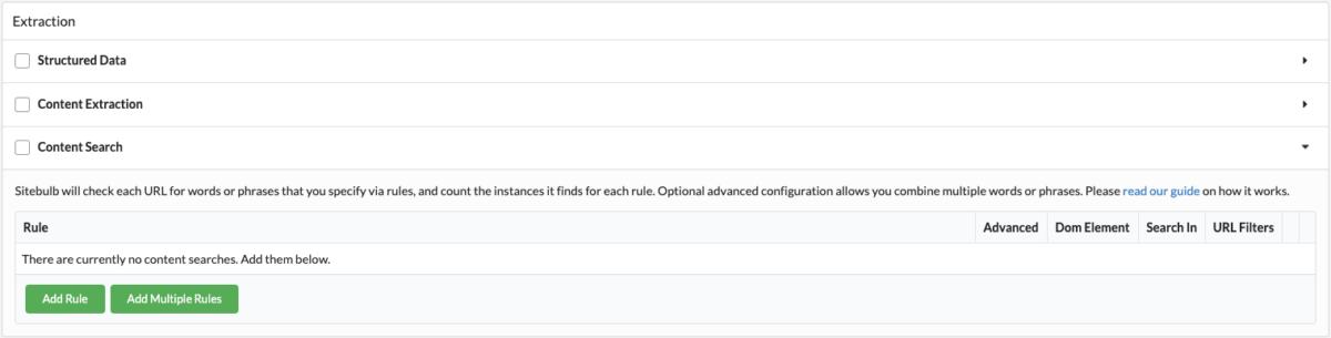 Szukamy możliwości linkowania wewnętrznego - SiteBulb